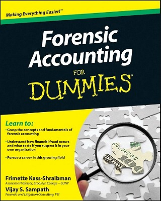 Forensic Accounting for Dummies By Kass-shraibman, Frimette/ Sampath, Vijay S.